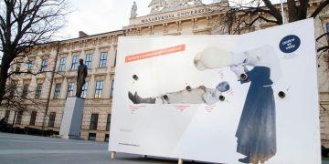 Dva interaktivní prvky výstavy už se objevily v centru Brna.