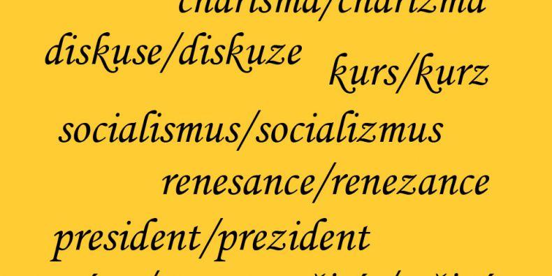 Možnost psát v cizích slovech dublety lidé příliš nevyužívají. Foto: MUNI.CZ.