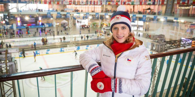 Areál Olympijského festivalu v Brně na výstavišti je otevřený každý den od 9 do 19 hodin a v pátek a v sobotu až do 21 hodin. Dá se tam narazit i na Elišku Březinovou.