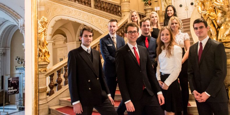 Competition organisers: law students from Masaryk University, Brno.