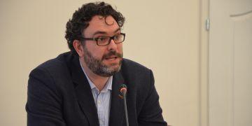 Erik Tabery upozornil, že se může stát, že média budou pouze byznysem a neponesou společenskou zodpovědnost.