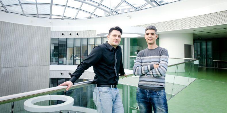 Thomas Evangelidis a Kostas Tripsianes z institutuCeitec Masarykovy univerzity.