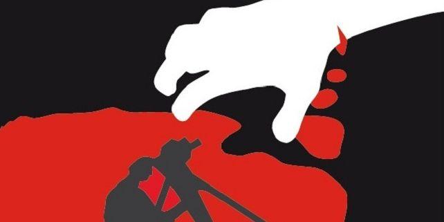 Plakát i znělka letošního ročníku využívají stylistiku upírských hororů a hlásají motto: Film máme v krvi... Foto: Plakát festivalu.