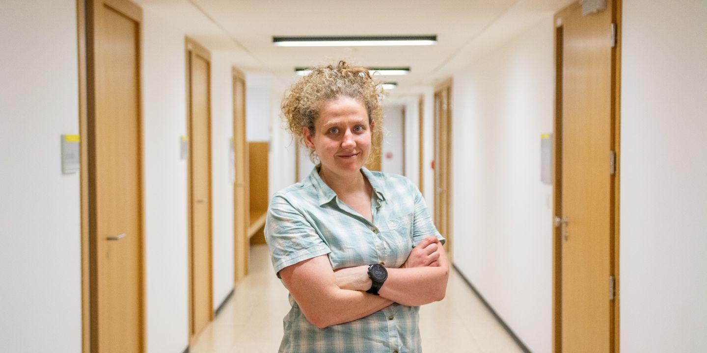 Fiona Skerman na Fakultě informatiky MU.