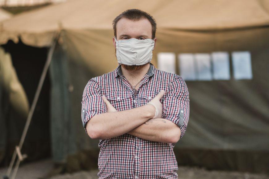 Student sociologie Jakub Šámal se přidal ktýmu pomáhajícímu lidem bez domova.