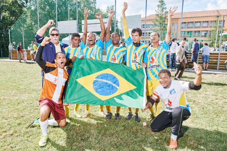 Vítězný brazilský tým ICB Bahia.