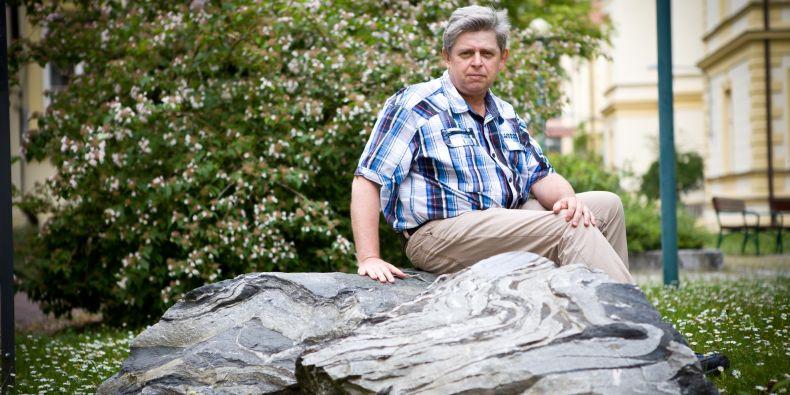S nápadem na vytvoření parku přišel geolog Rostislav Melichar.