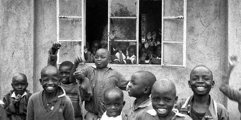 Předchozí projetk, kdy děti z Nairobi dostaly vybavení a vyrazily fotit do slumů.