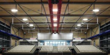 Ve sportovní hale v univerzitním kampusu se bude rozhodovat i o tom, kdo pojede reprezentovat Česko na olympiádu. Foto: Archiv A PLUS a.s.