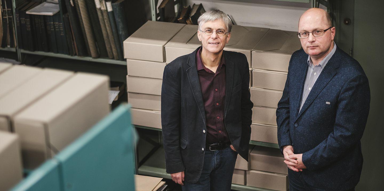 Ke 100. výročí založení Masarykovy univerzity vychází dvě nové publikace, jejichž autory jsou z velké části historikové Jiří Hanuš a Lukáš Fasora.