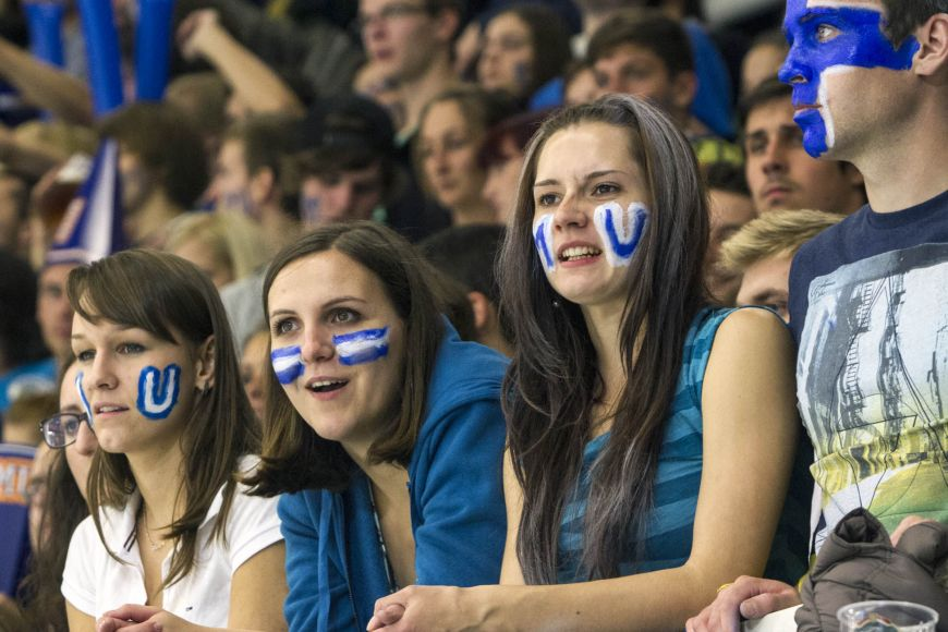 Fans of Masaryk University.