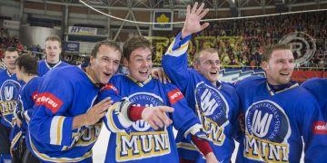 Lukáš Hnilička a Michal Matouš (zleva) společně nejen nastupují za tým Muni, ale oba taky studují na právnické fakultě.