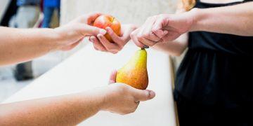 Pokud chce v ekonomice sestávající ze čtyř lidí Aleš vyměnit jablko za datle, Božena banán za hrušku, Cecilka hrušku za jablko a David datle za banán, bude jim trvat relativně dlouho, než dostane každý právě to zboží, které chce.