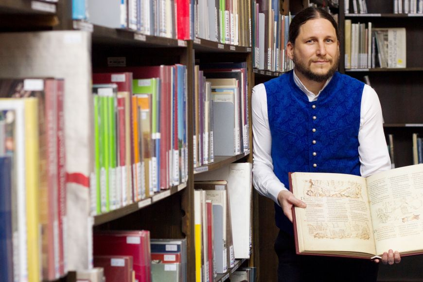 Ivan Foletti je vedoucí centra raně středověkých studií