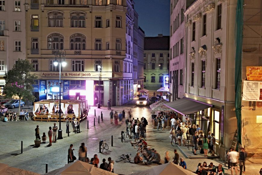 Pleasant and friendly atmosphere of asmall city combined with awide range of services and events spiced up with bars and pubs that are among the best the Czech Republic has to offer.
