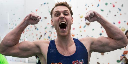 Po obou světových šampionátech už teď Jan Kříž stejně jako jiní lezci pokukuje spíš po olympiádě.