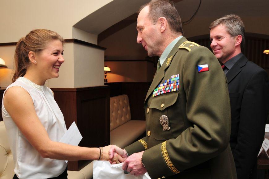 Jana Knapová se vroce 2014 dostala mezi nejlepší akademické sportovce města Brna.