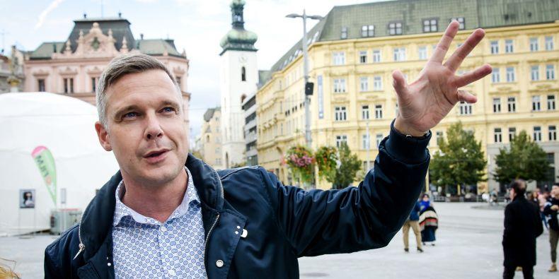 Místní ulice zná Jiří Václavek odmala. Jeho maminka dodnes žije v Masarykově čtvrti nedaleko Filozofické fakulty MU.