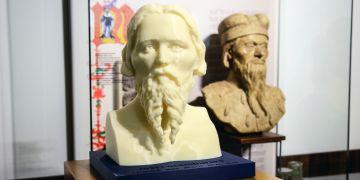 Hlavní model Jošta, sestavený za pomoci vrstvení plastů ve 3D tiskárně, bude vystaven v Muzeu města Brna.