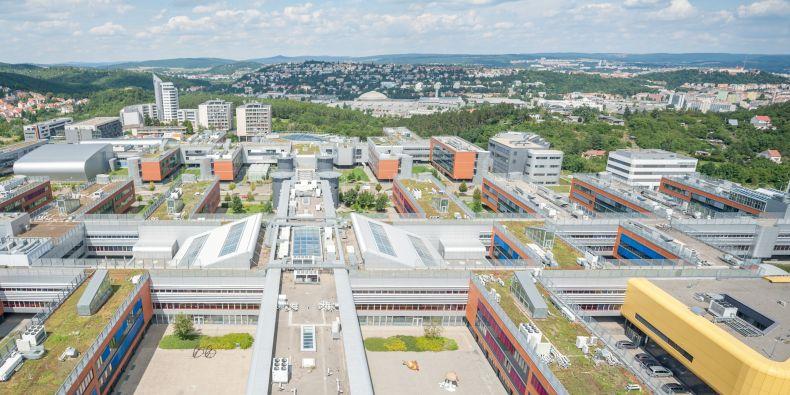 Masaryk University Campus in Brno-Bohunice.