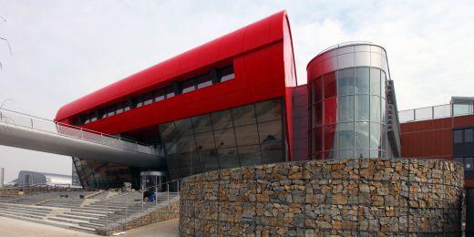 Univerzitní kampus v Bohunicích.