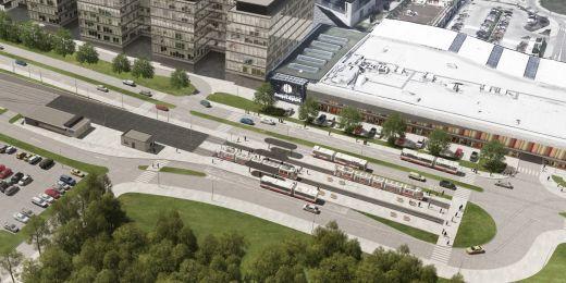 Stavba tramvajové linky ze zastávky Osová ve Starém Lískovci do univerzitního kampusu v Bohunicích za zhruba 1,3 miliardy korun by podle aktuálních plánů mohla být hotová v roce 2020