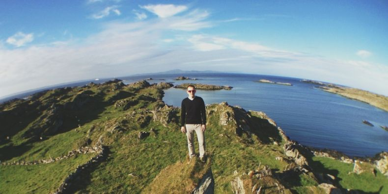 Zatím poslední výpravou Václava Kantora bylo desetidenní putování po Norsku.