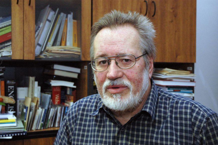 Karel Pala, vedoucí Centra zpracování přirozeného jazyka FI MU. Foto: David Povolný.