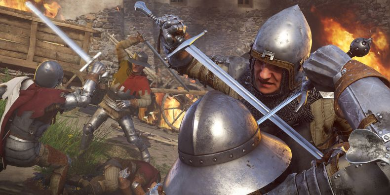 Tvůrci hry vyvinuli originální herní systém boje mečem.