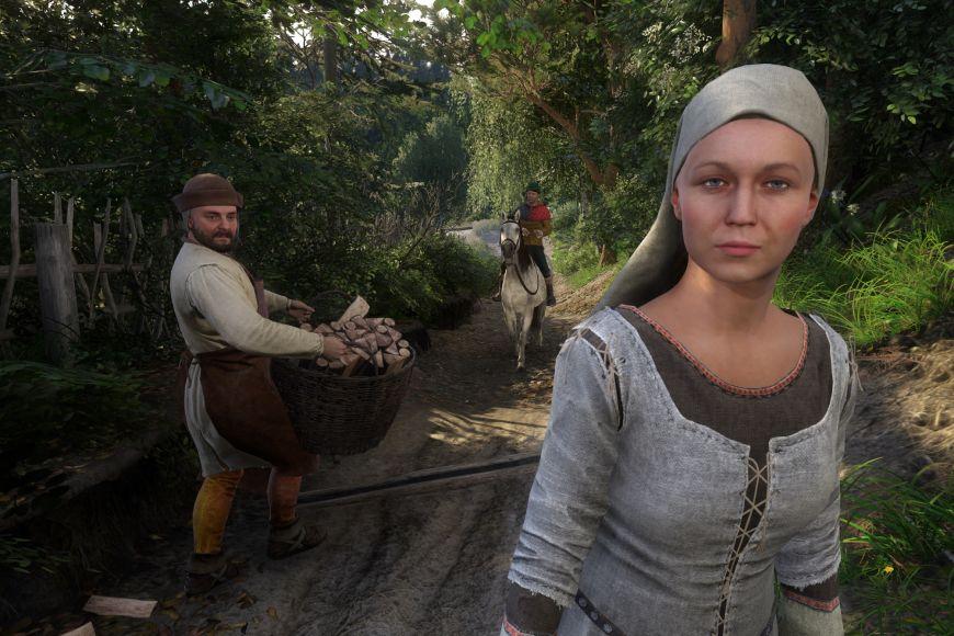 Řada stereotypů se projevuje ive zobrazení venkovského života, třeba pokud jde oděvčata, která se nebrání plácnutí po zadku adají se snadno svést.