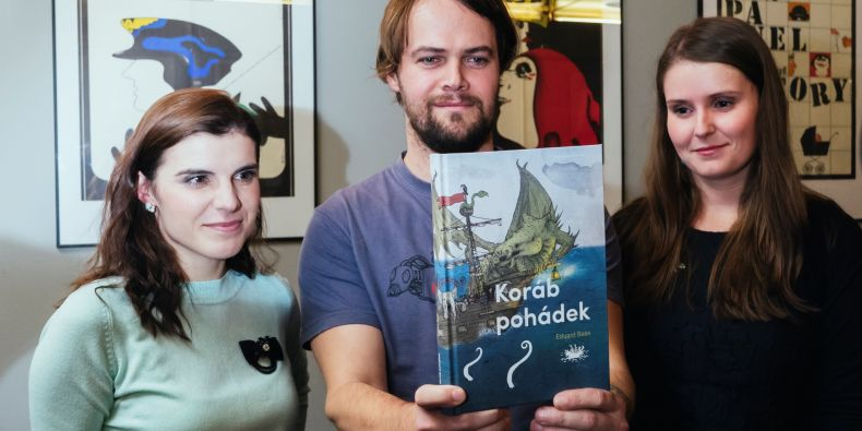 Knižní vydání příběhů připravila Hedvika Landová spolu s ilustrátorem Petrem Korunkou a grafičkou Nikolou Kalinovou.