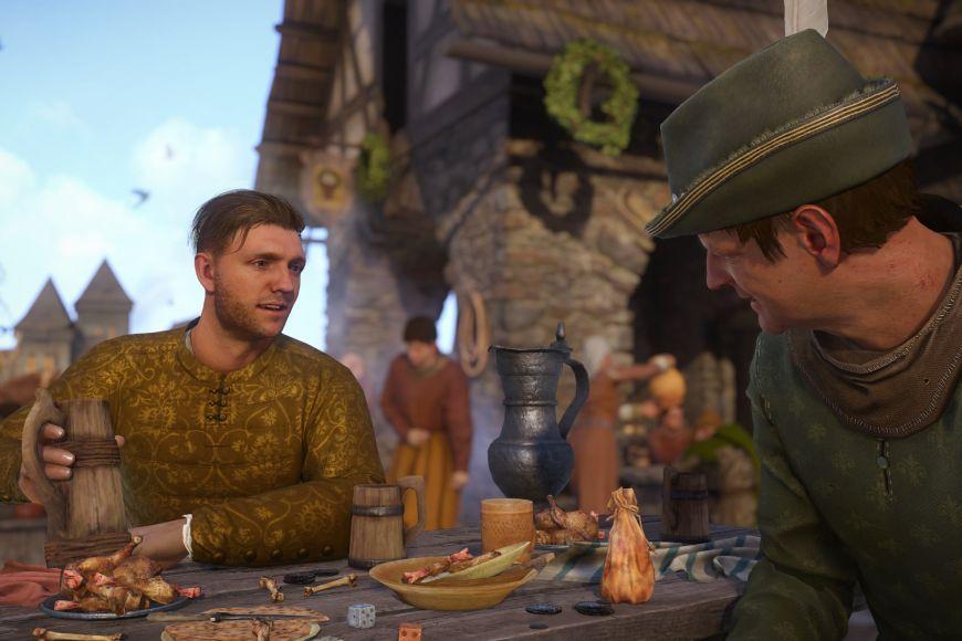 Hlavní hrdina, kovářský syn Jindřich.
