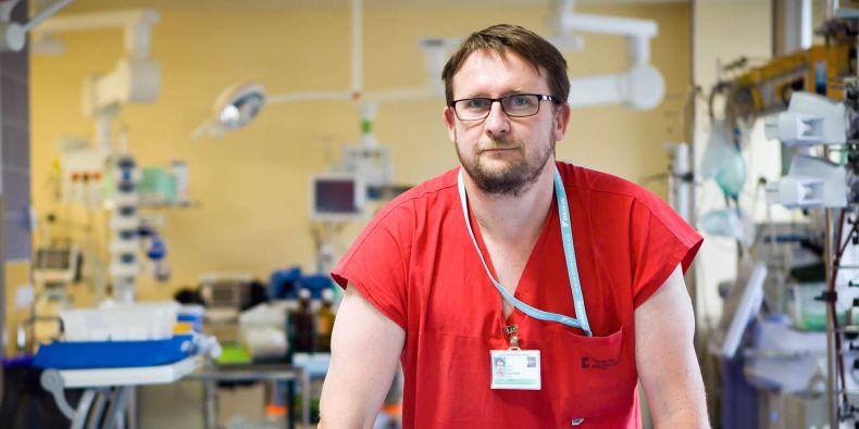 Primář Oddělení urgentního příjmu FN Brno Martin Doleček.