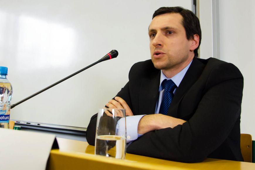 Ekonom Libor Žídek.