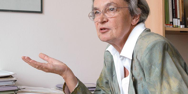 Hana Librová stála uzrodu oboru humanitní enviromentalistika na FSS MU.