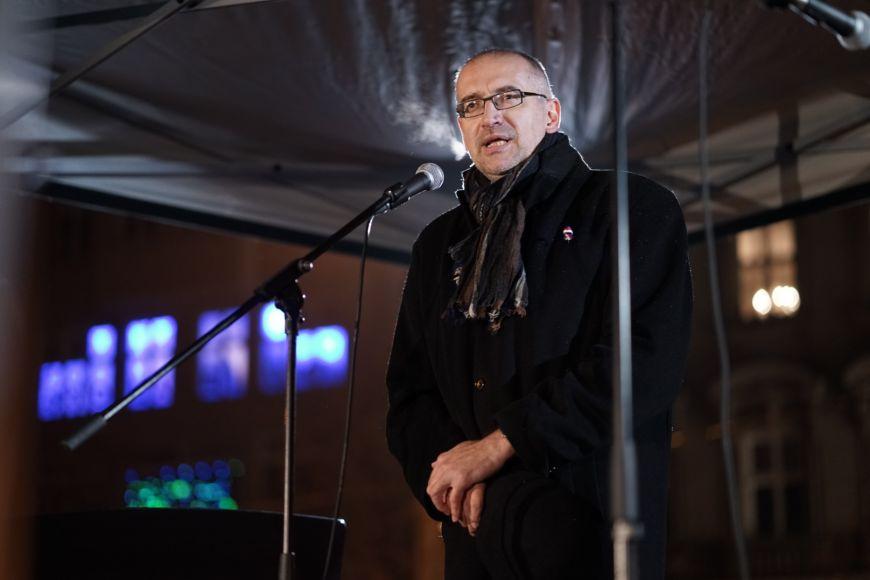 17. listopad je vnaší historii dnem čestné porážky idnem velkého vítězství, uvedl rektor MU Mikuláš Bek.