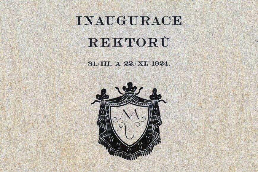 Úplně první logo Masarykovy univerzity, nikdy nebylo oficiální.