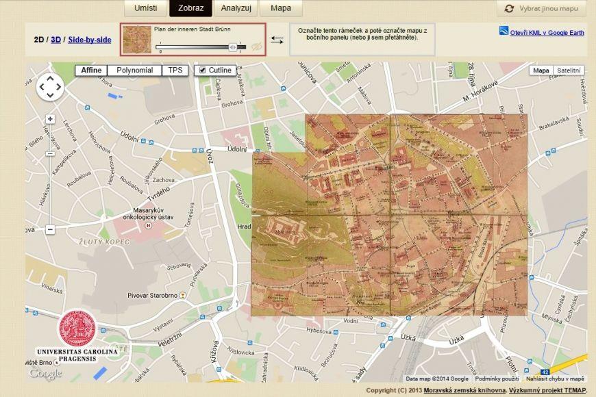 Jak Vypadala Vase Ulice Pomozte Zmapovat Stare Mapy Veda