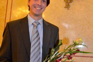 Marek Mráz získal ocenění ataké finanční dar ve výši 15 tisíc korun.
