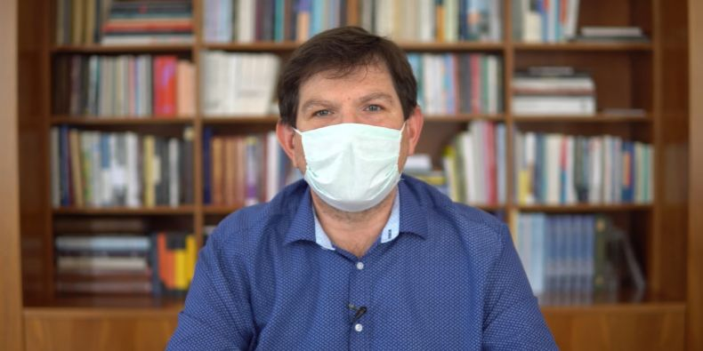 Rektor Martin Bareš.