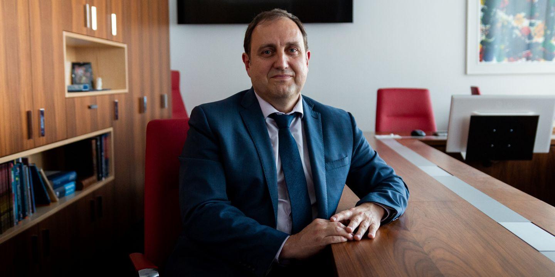 Čerstvý profesor a nově zvolený děkan Lékařské fakulty MU Martin Repko.