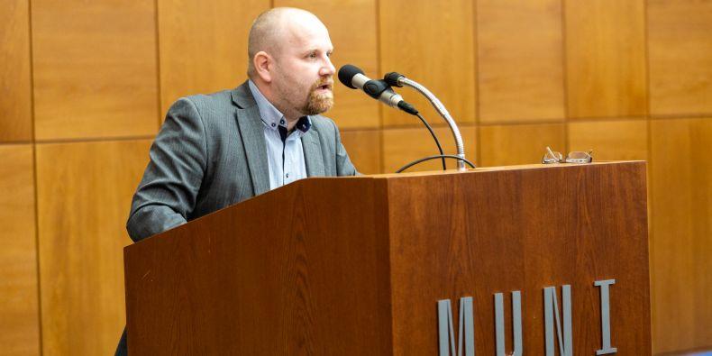 Martin Škop před volbou.