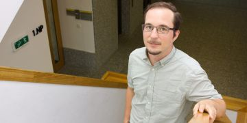 Matej Pivoluska z Ústavu výpočetní techniky MU.