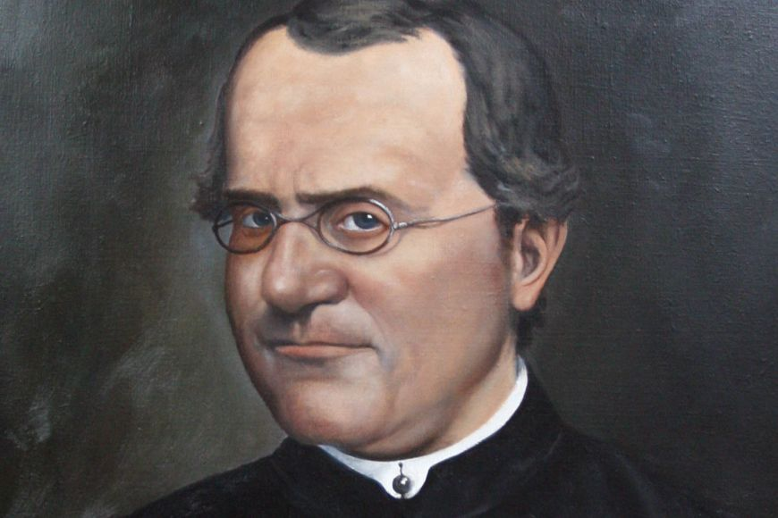 From 1843 Mendel lived and worked as afriar in the Augustinian Abbey in Old Brno and in 1868 he became the Abbot. Photograph: Archive of Mendel Museum of Masaryk University.
