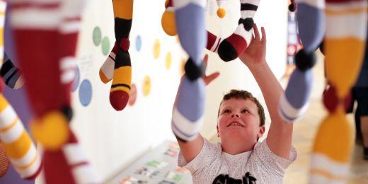 To nejsou ponožky, ale chromozomy!
