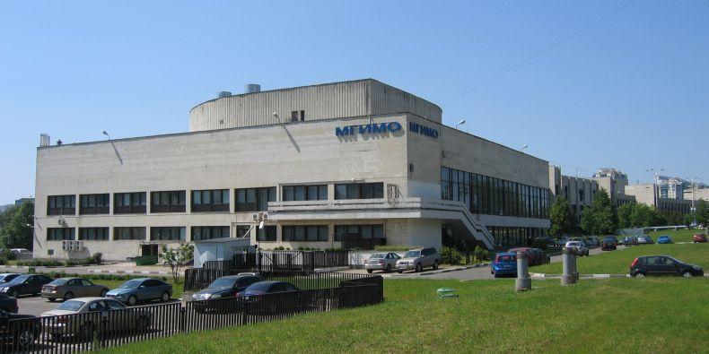Institut pro mezinárodní vztahy v Moskvě.