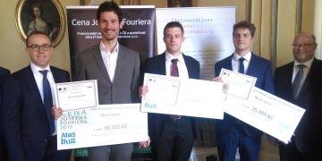 Pozvánku na předávání cen dostal Michal Balážia (druhý zleva) s informací, že je mezi čtveřicí nejlepších. S celkovým vítězstvím rozhodně nepočítal.