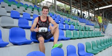 Ve finálovém závodu na 400 metrů doběhl Martin Tuček v úterý druhý v čase 50.47, takže za svým osobním rekordem, který si vytvořil teprve před pár týdny, zaostal jen o pět setin vteřiny.