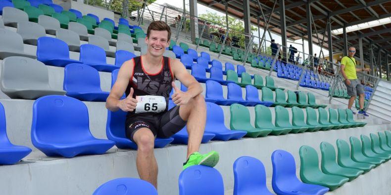 Jedním z těch, kdo si o stipendium zažádal a dostal ho, je reprezentant v atletice a účastník mistrovství Evropy Martin Tuček.