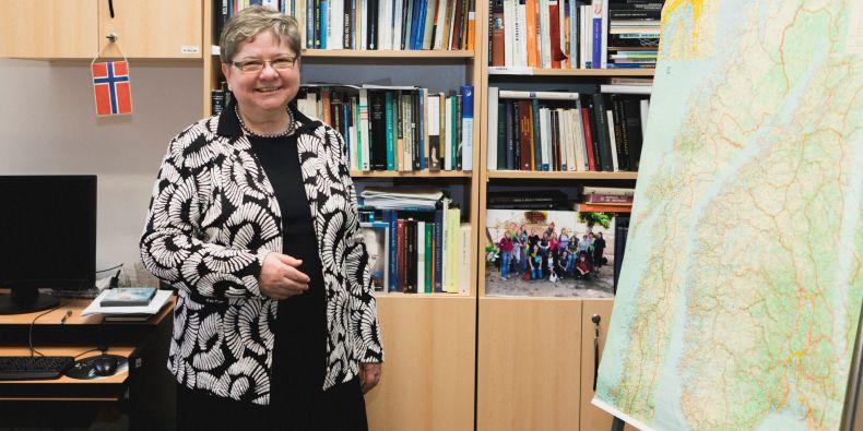 Norský jazyk a literatura se v Brně studují jako obor od roku 1974 a Miluše Juříčková byla jednou z prvních studentek.